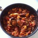 トマト煮こみ