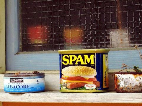 スパム缶の糖質