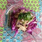 茹で豚サラダ