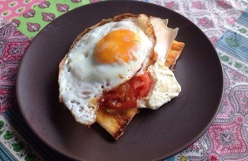 朝ごはんトースト