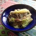 白菜と豚の蒸し料理