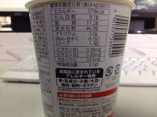 坦々麺栄養素