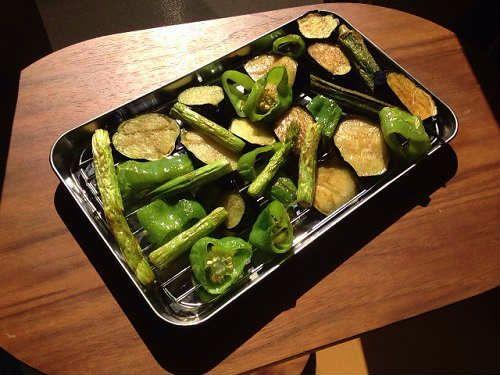 野菜の素揚げ